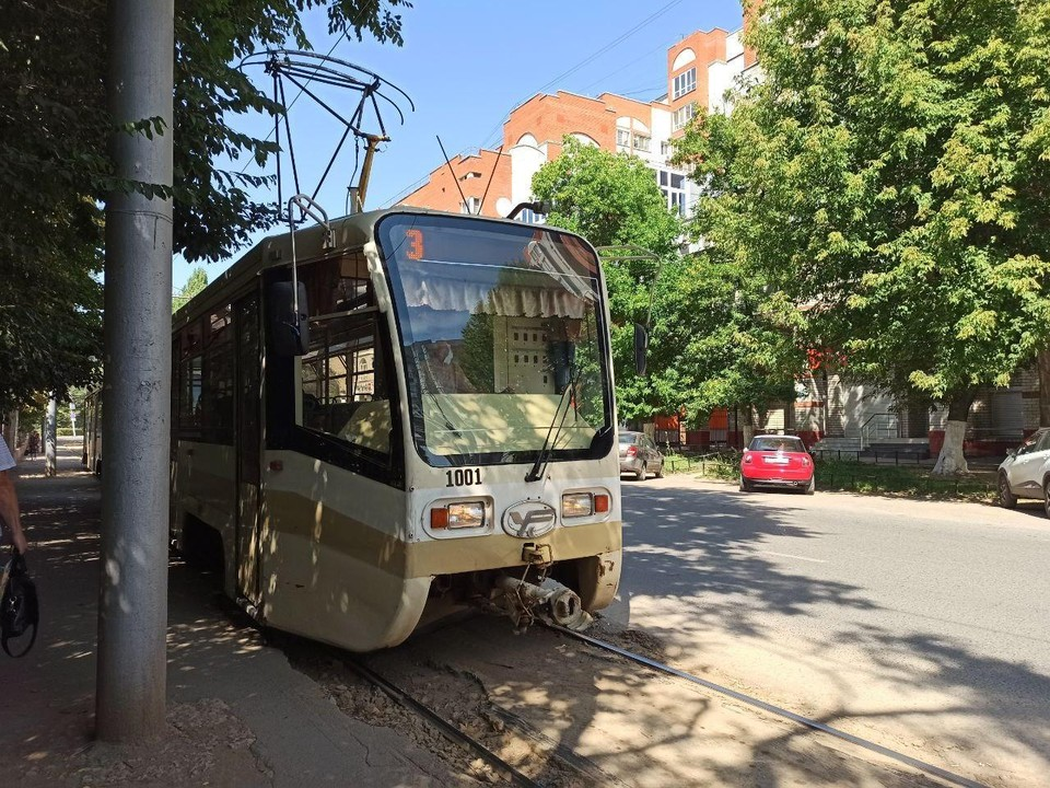 Трамвай собираются убрать из Мирного переулка.