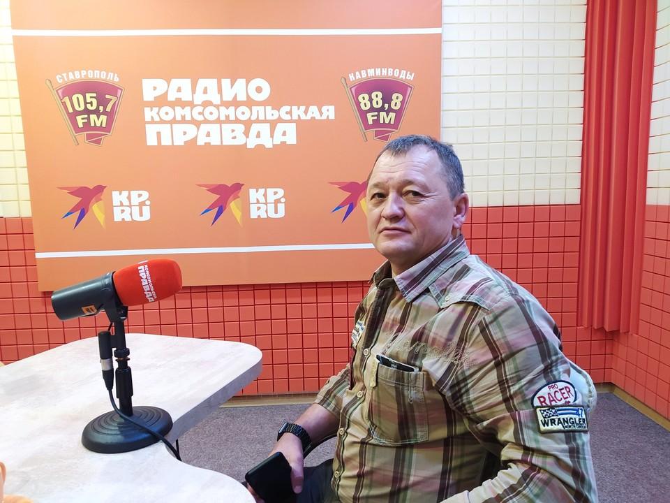 Директор Краевой ДЮСШ Пётр Пашков