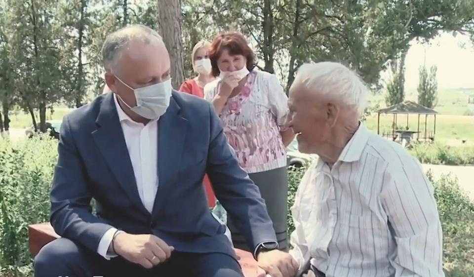 Президент Игорь Додон опубликовал фильм о 3,5 годах своей работы. Фото: кадр из фильма