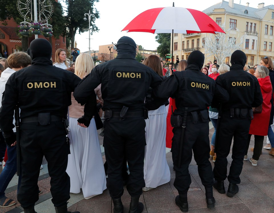 Акции оппозиции в Минске продолжаются.