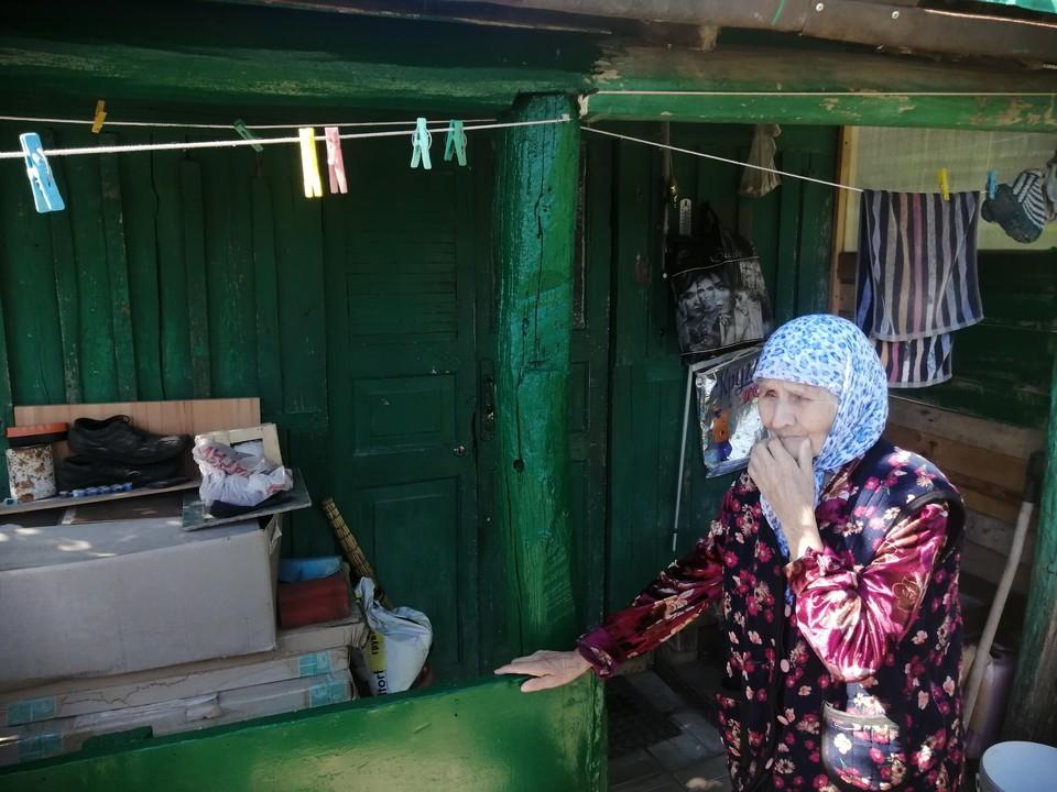Магмура Минибаева в любой момент может оказаться под завалами собственного дома