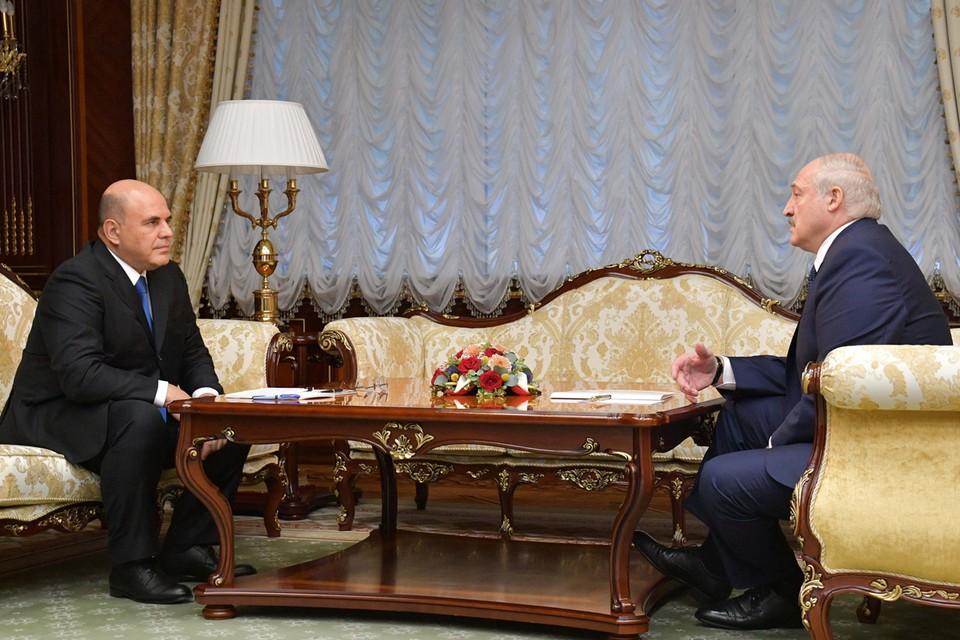 Александр Лукашенко сообщил на встрече с Михаилом Мишустиным, что все данные переданы в российскую ФСБ
