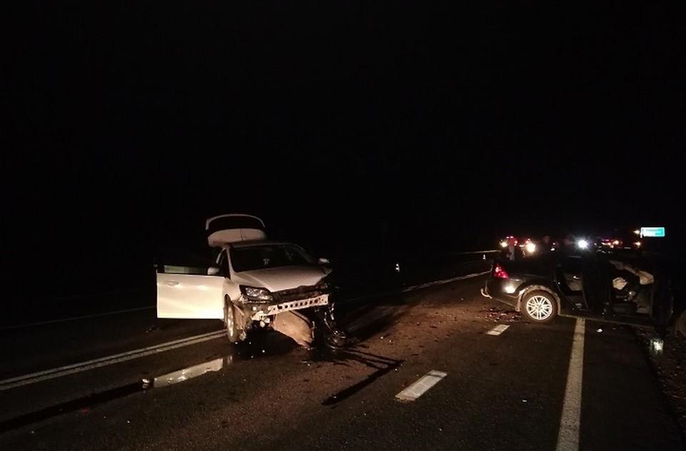 В аварии пострадали восемь человек, один погиб. Фото: отдел пропаганды ГИБДД по Свердловской области