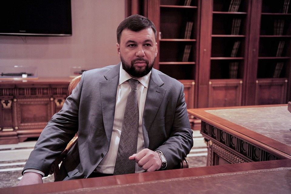 Глава республики Денис Пушилин сообщил, что отдал приказ об уничтожении новых инженерных сооружений на линии разграничения