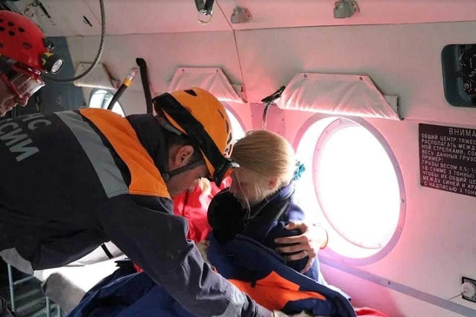 Детей спасли. Фото: пресс-служба ГУ МЧС по Краснодарскому краю