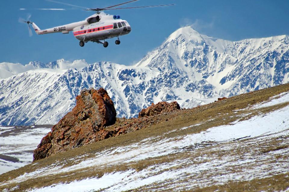 Вертолетом мужчину эвакуировали в республиканскую больницу