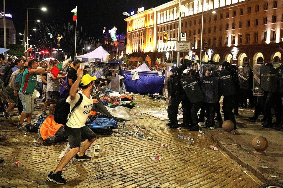 Беспорядки в Софии 2 сентября.