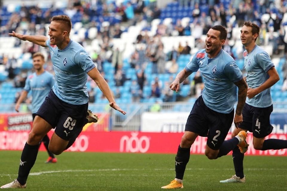 Егор Голенков забил спустя несколько секунд после появления на поле