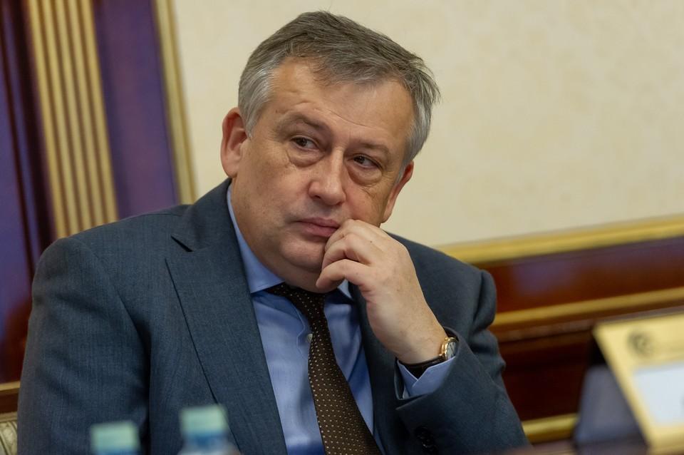 Александр Дрозденко возглавляет Ленобласть с 2012 года.