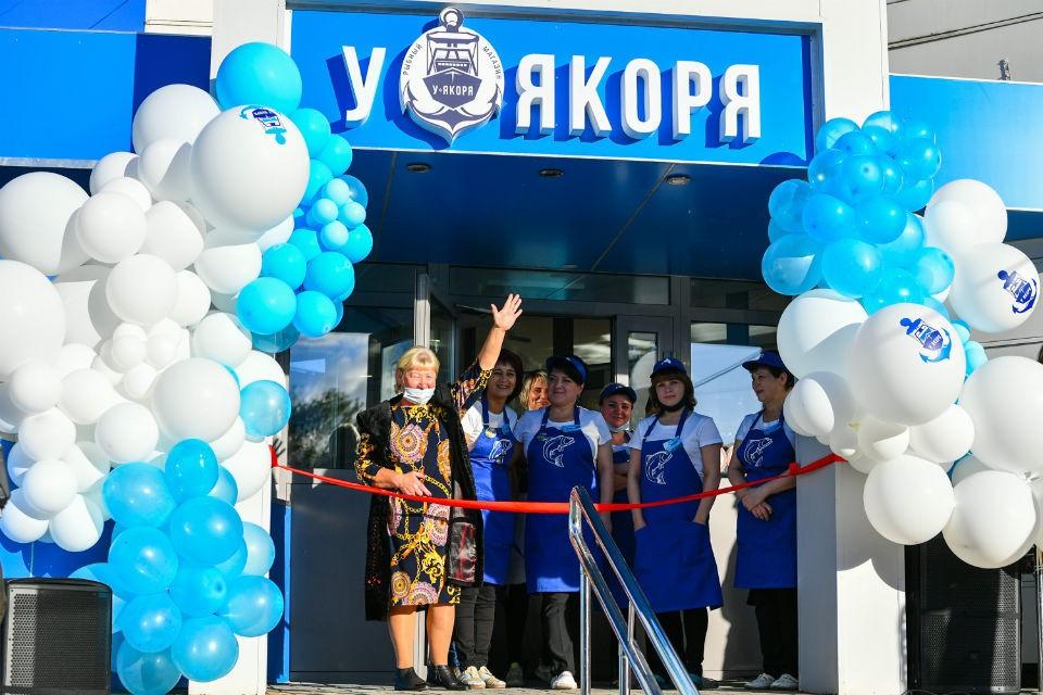 В центре Петрозаводска открылся магазин «У якоря». Фото: Сергей Юдин