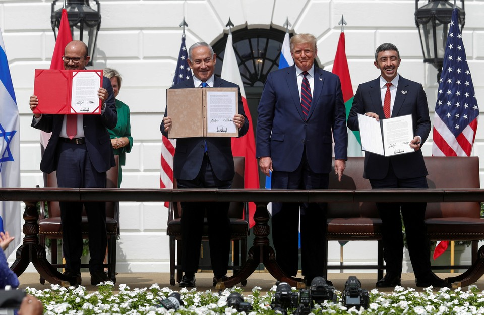 Израиль, ОАЭ и Бахрейн подписали соглашение о нормализации отношений
