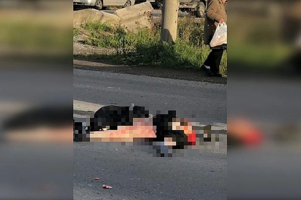 """Фото с места происшествия: группа ВКонтекте """"ЧП Чусовой""""."""