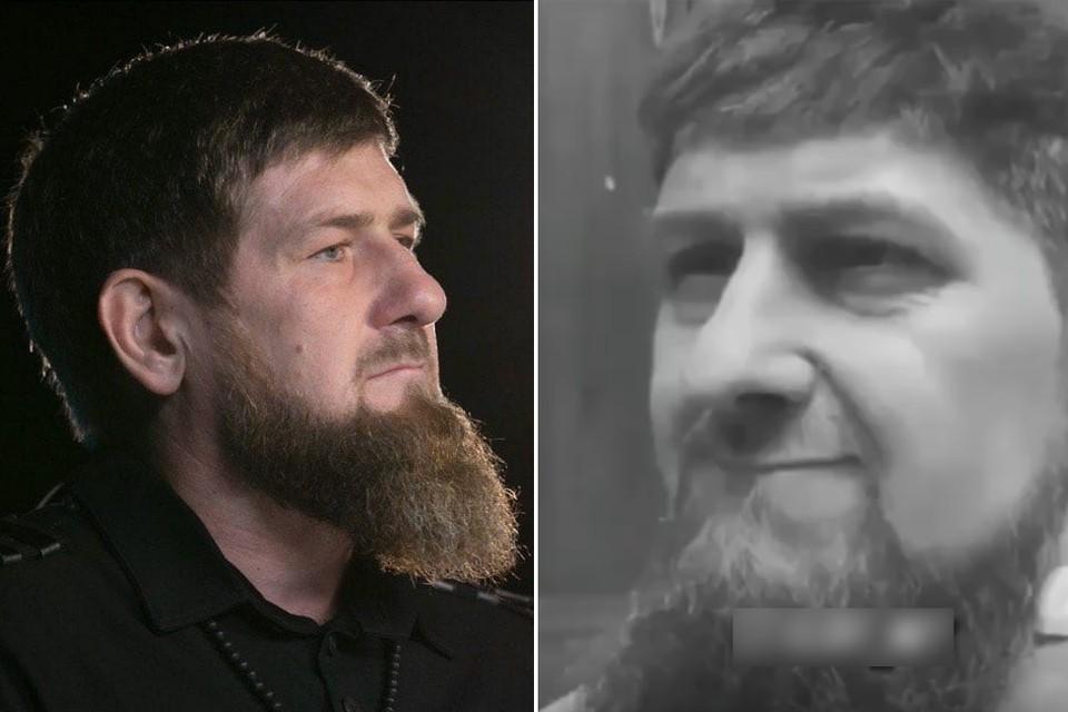 Рамзан Кадыров / кадр видео, демонстрирующего «маску», якобы подготовленную для провокации