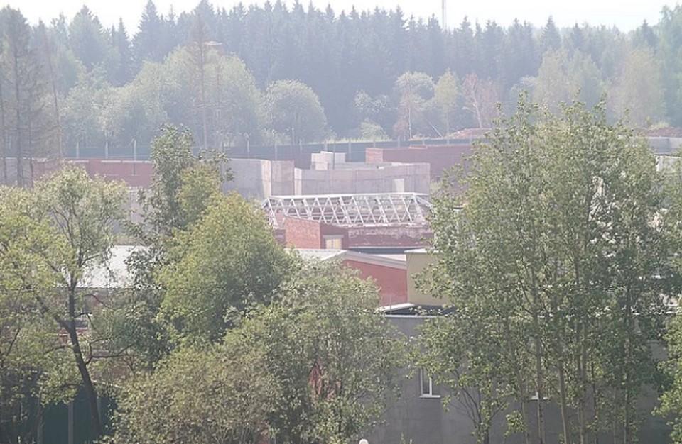 Половина возведенных зданий нового зоопарка находятся в плачевном состоянии.