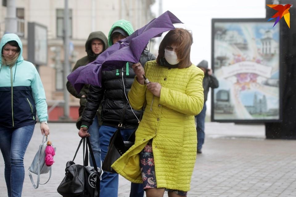 В Беларусь приходит настоящая осень.