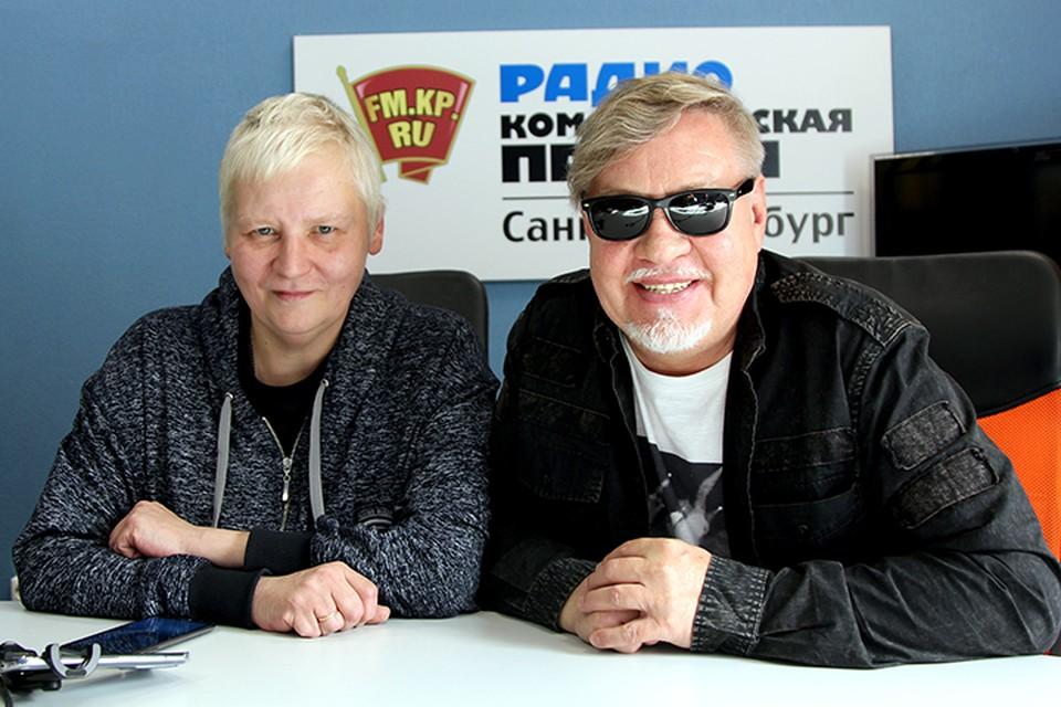 Алексей Вишня и Александр Семенов в студии радио «Комсомольская Правда в Петербурге», 92.0 FM