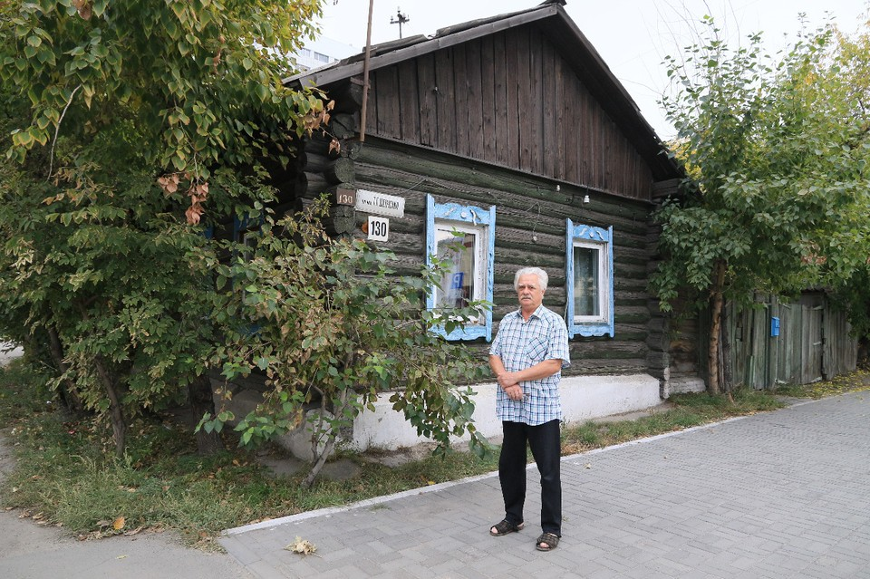 Четная сторона Шевченко на перекрестке с Ядринцева перешла во владение Педуниверситета