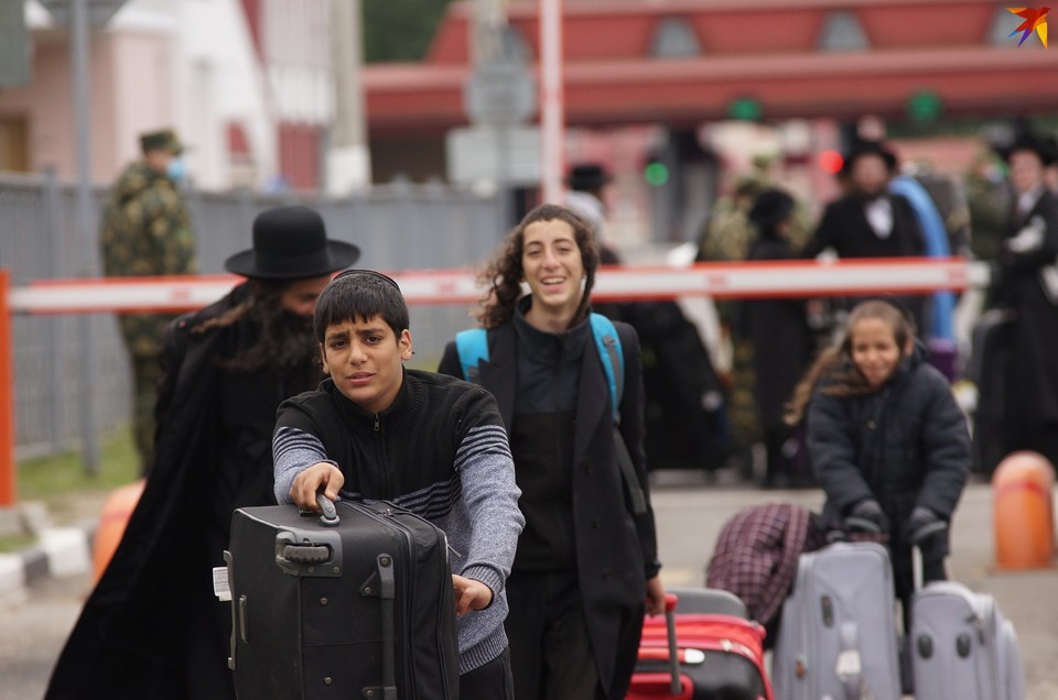 Хасиды вернулись с украинской границы в Беларусь