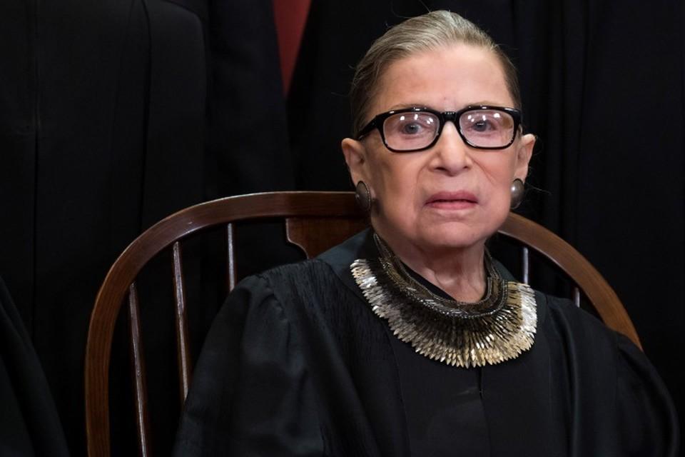 Старейший член Верховного суда США Рут Бейдер Гинзбург