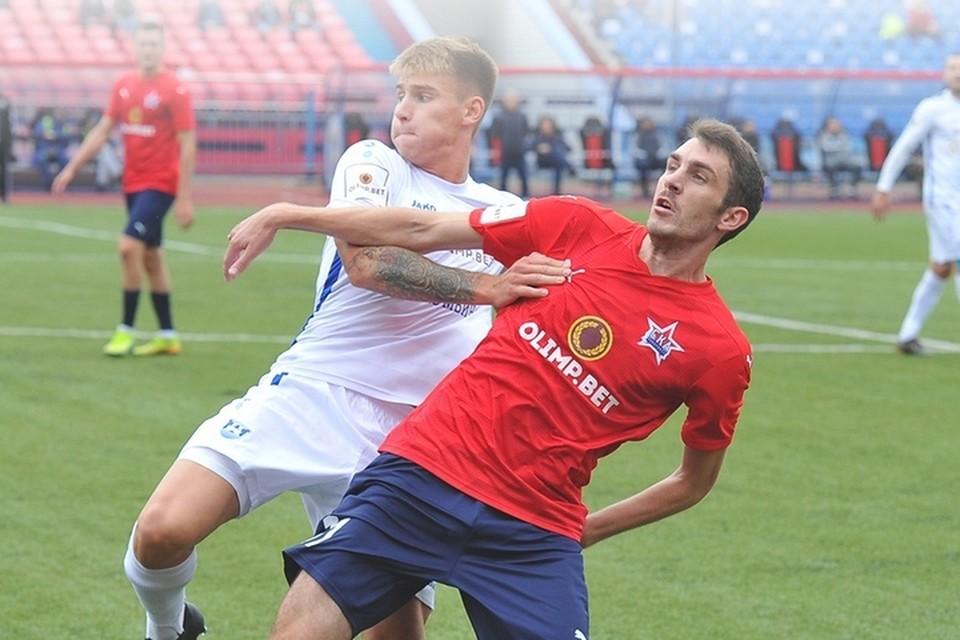 В домашнем мачте «СКА-Хабаровск» так и не смог обыграть калининградскую «Балтику»