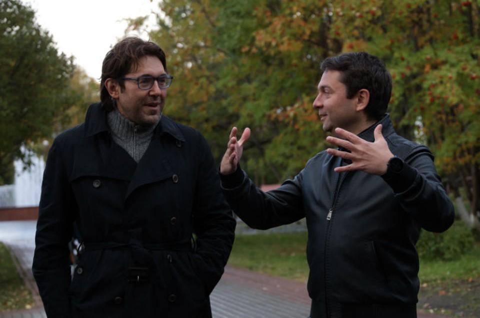 Андрей Малахов и Андрей Чибис решили сделать Апатиты культурной столицей.