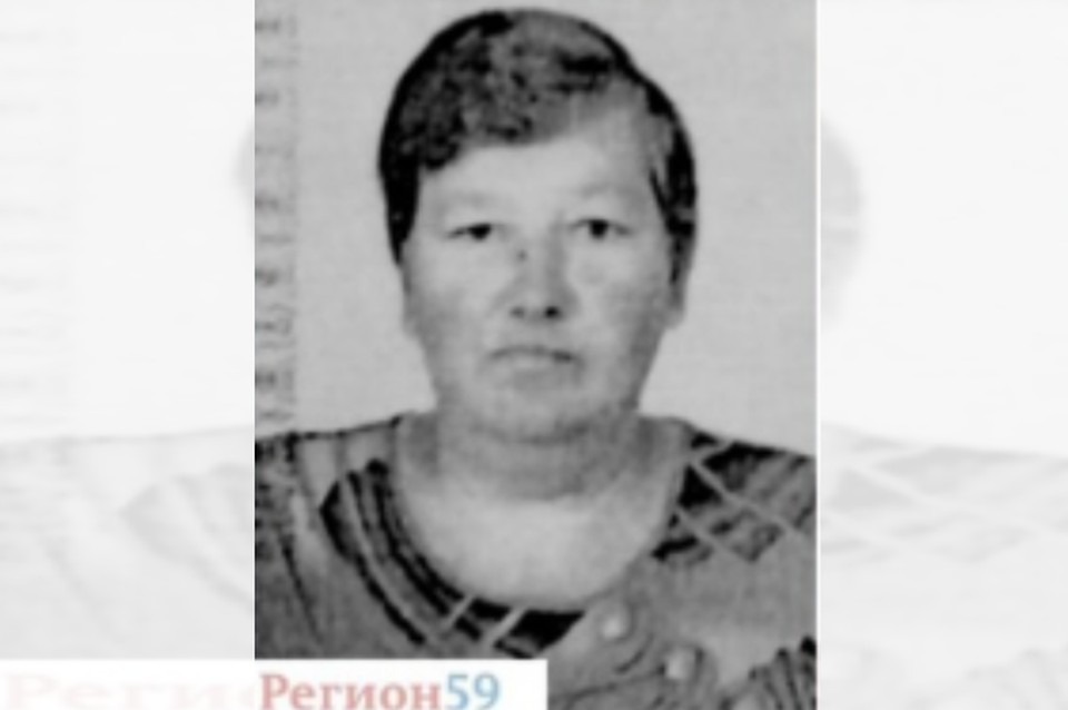 Пропавшая женщина. Фото: поисковой отряд «Регион59»