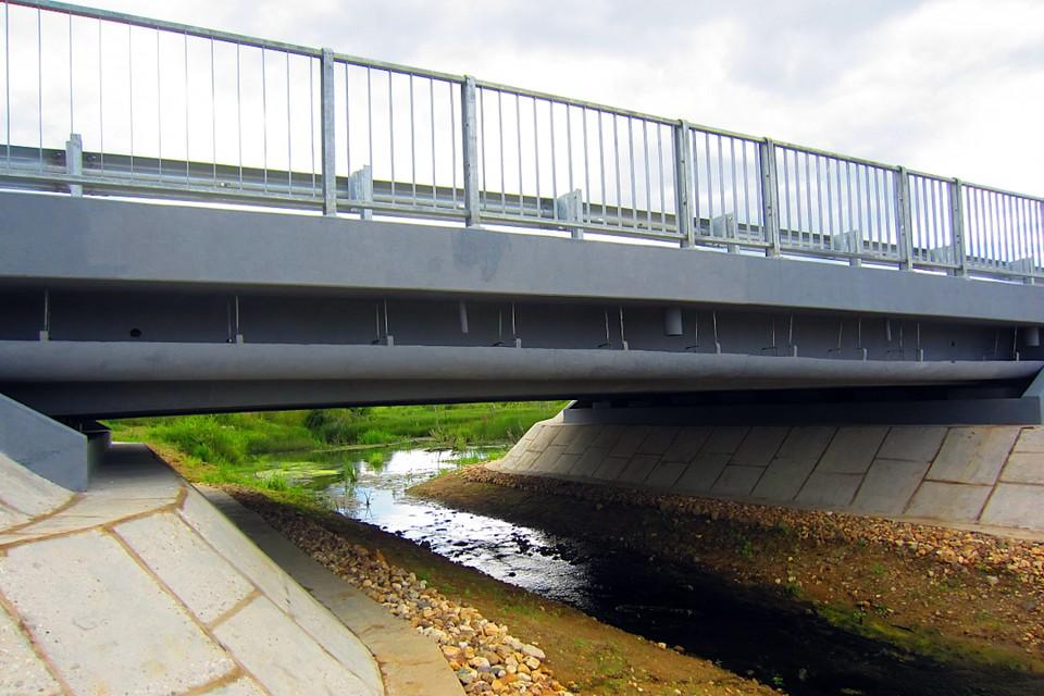 Пять из семи мостов по плану отремонтировали в 2020 году в Тверской области. Фото: ПТО.