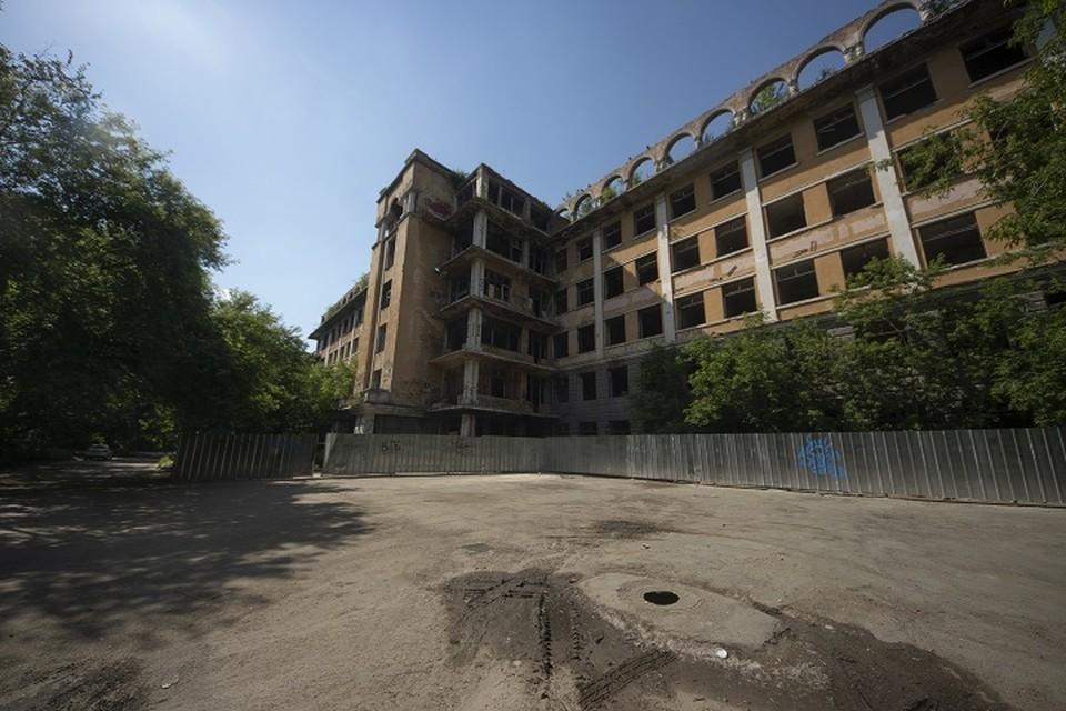 Реставрировать здание больницы СМП планируют к 2023 году