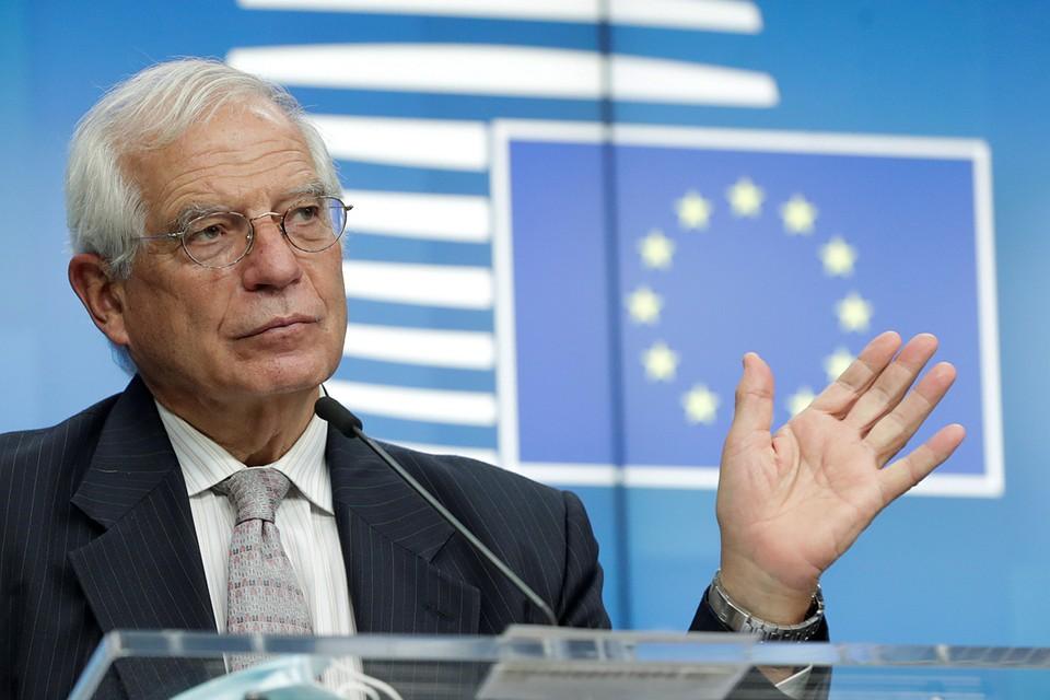 Боррель назвал введение санкций против Лукашенко вопросом престижа Евросоюза