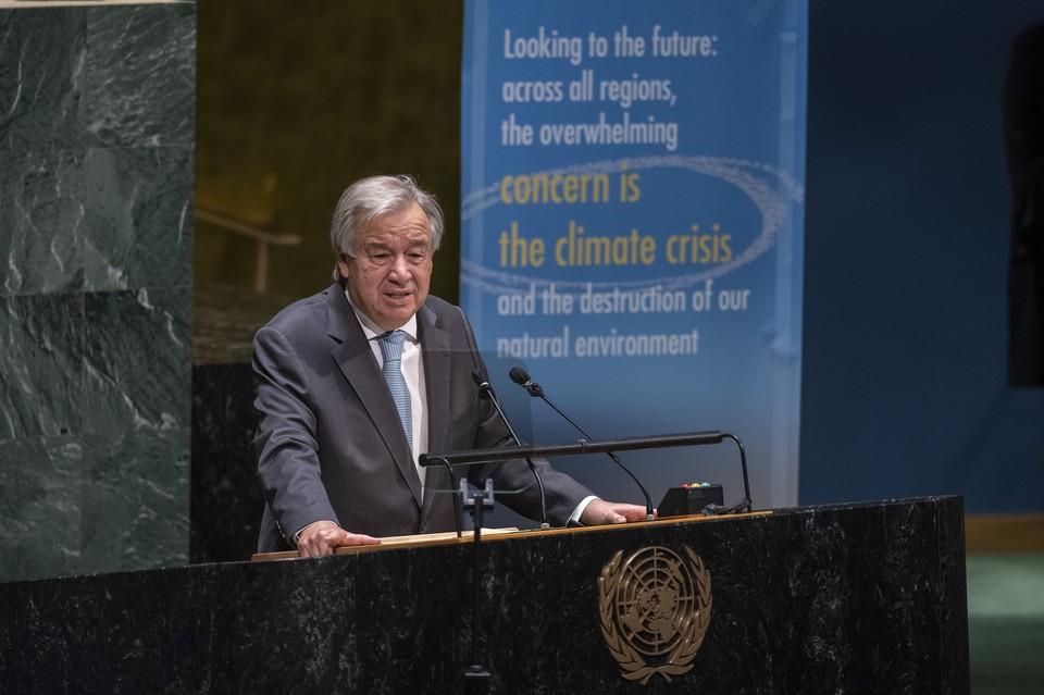 Первоначальный призыв Антониу Гутерреша поддержали 180 государств-членов ООН