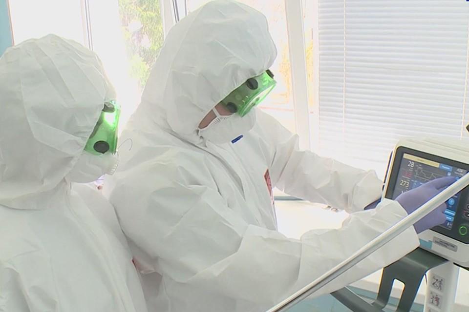 Под Брянском открыли дополнительный коронавирусный госпиталь