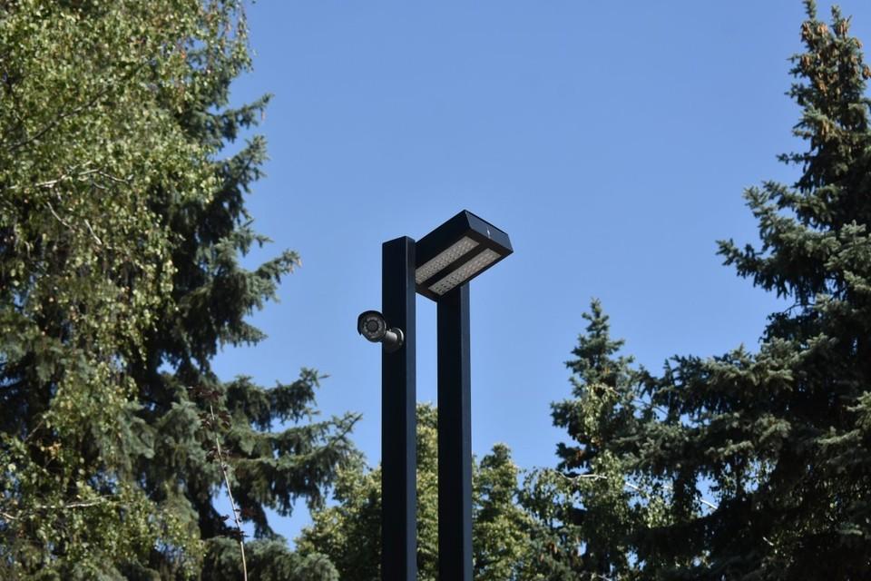 В Детском парке Орла устанавливают камеры видеонаблюдения