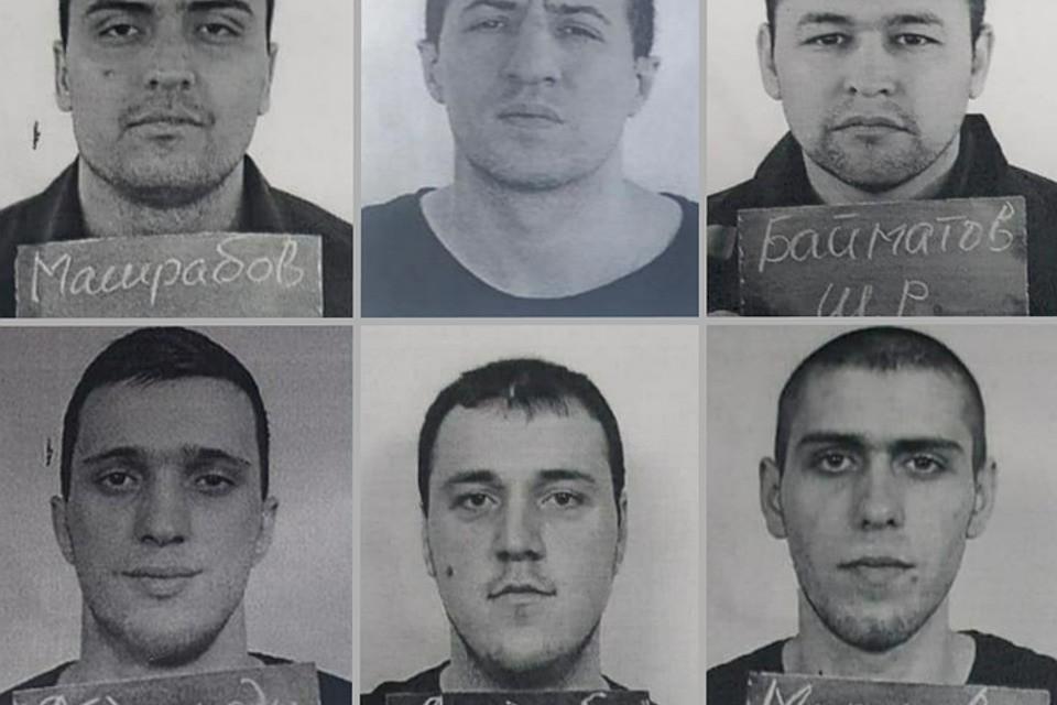 Разыскиваемые преступники. Фото: МВД по РД