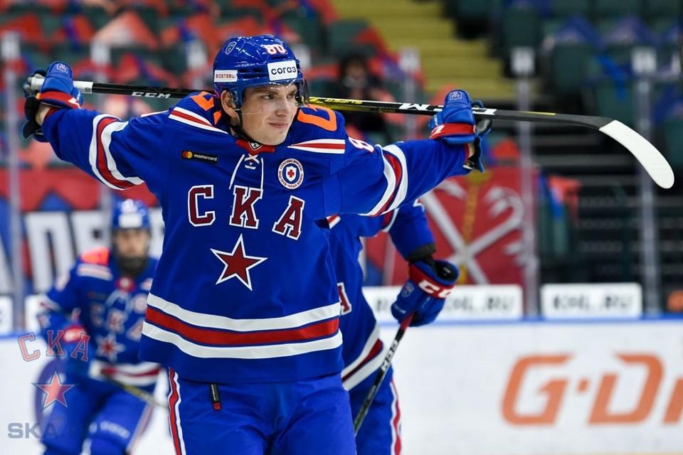 """На игру с """"Сибирью"""" СКА выставил самый молодой состав"""
