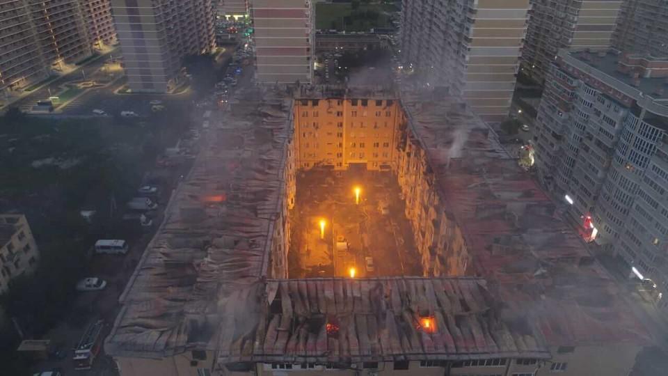В Краснодаре возбудили еще одно уголовное дело после пожара в доме на Российской