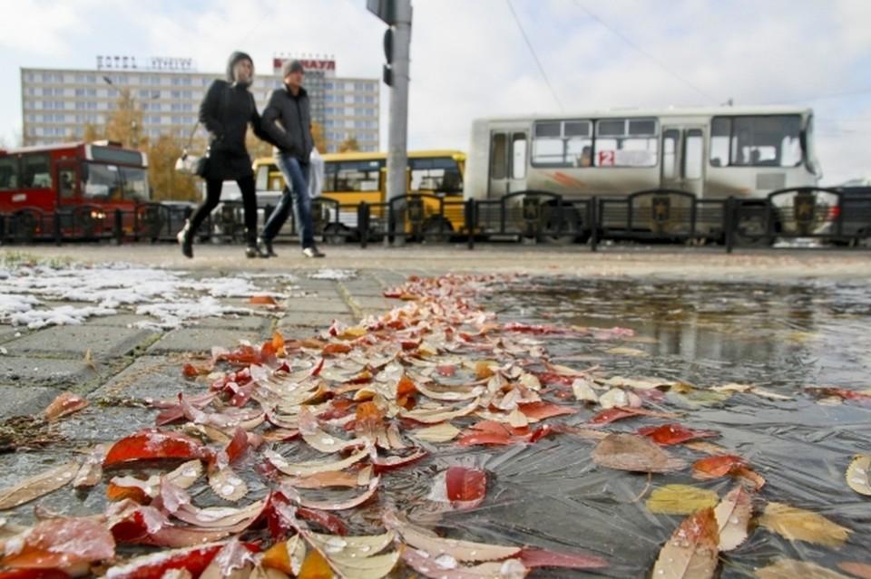 В Башкирии с каждым днем становится все холоднее
