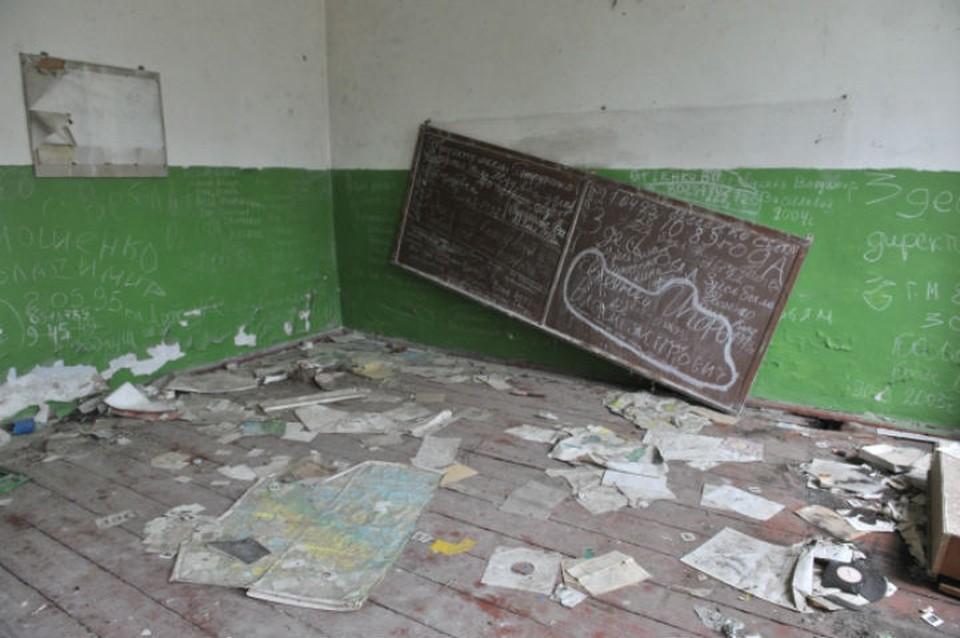 Здание заброшено около 15 лет