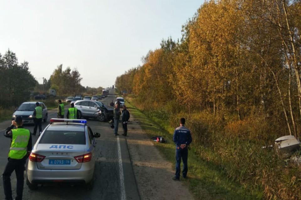 В аварии погибла 10-летняя девочка