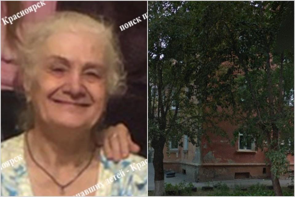 Объявлены поиски пропавшей в Красноярске 76-летней женщины с потерей памяти. Фото: Поиск пропавших детей - Красноярск, Гугл-карты.