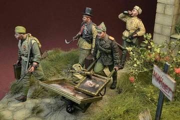 Польская фирма выпустила фигурки советских солдат-мародеров