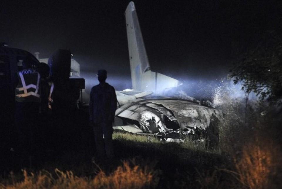 Один из двух выживших при крушении Ан-26 под Харьковом умер в больнице