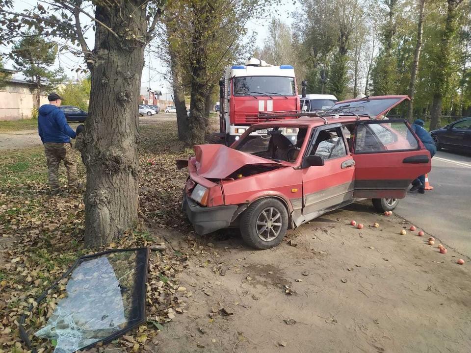 В ДТП пострадал водитель легкового автомобиля Фото: УГИБДД России по Тверской области