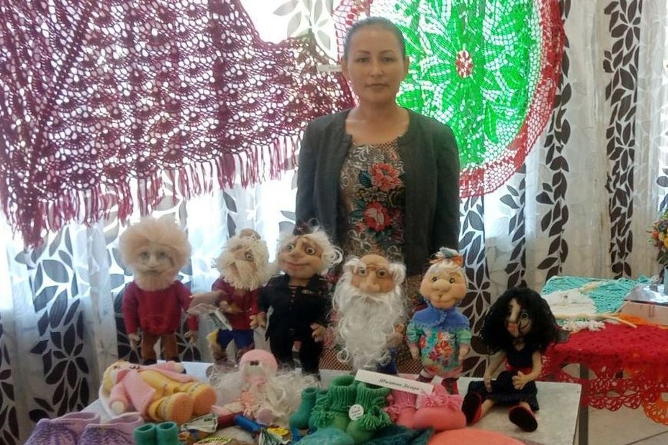 Недавно Диляра Шигаева приняла участие в выставке «Синегорье». Фото: Росгвардия по Челябинской области/vk.com