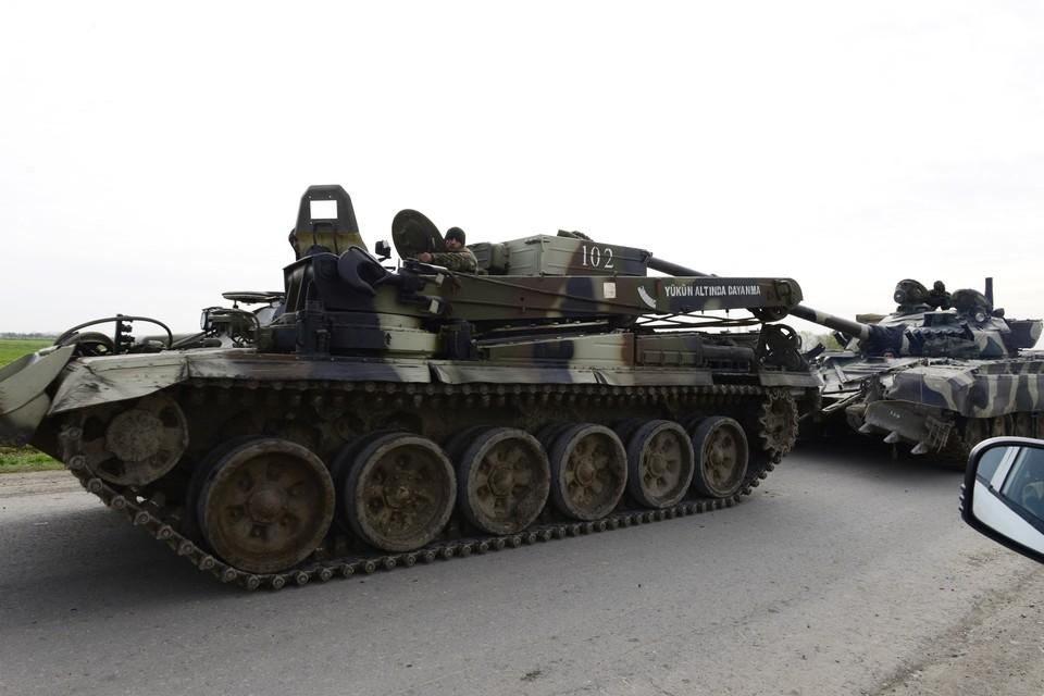 Минобороны Армении опубликовало видео уничтожения трёх азербайджанских танков