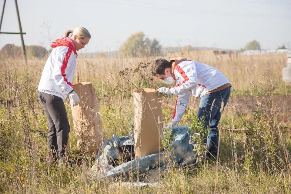 Активисты убрали свалки мусора. Фото: Виктор Николаев