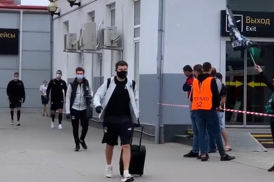 Мурада Мусаева встретили овациями Фото: аэропорт Краснодар