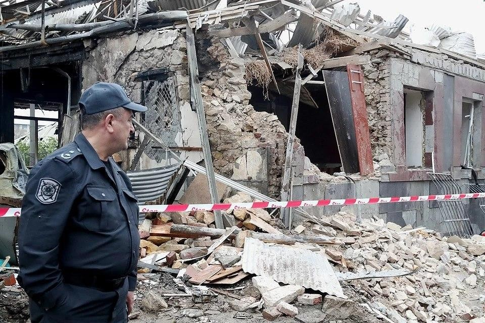 Минобороны Азербайджана заявило о ракетном обстреле страны с территории Армении. Фото: Валерий Шарифулин/ТАСС