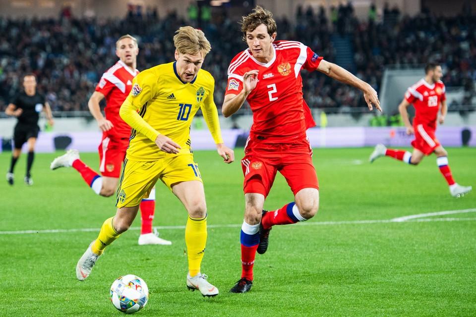 Россия вновь будет играть против Швеции.