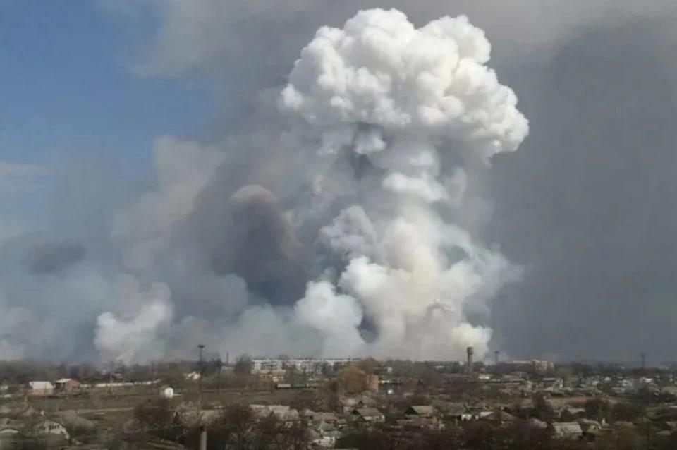 В Рязанской области потушили пожары вблизи населенных пунктов. Фото: соцсети