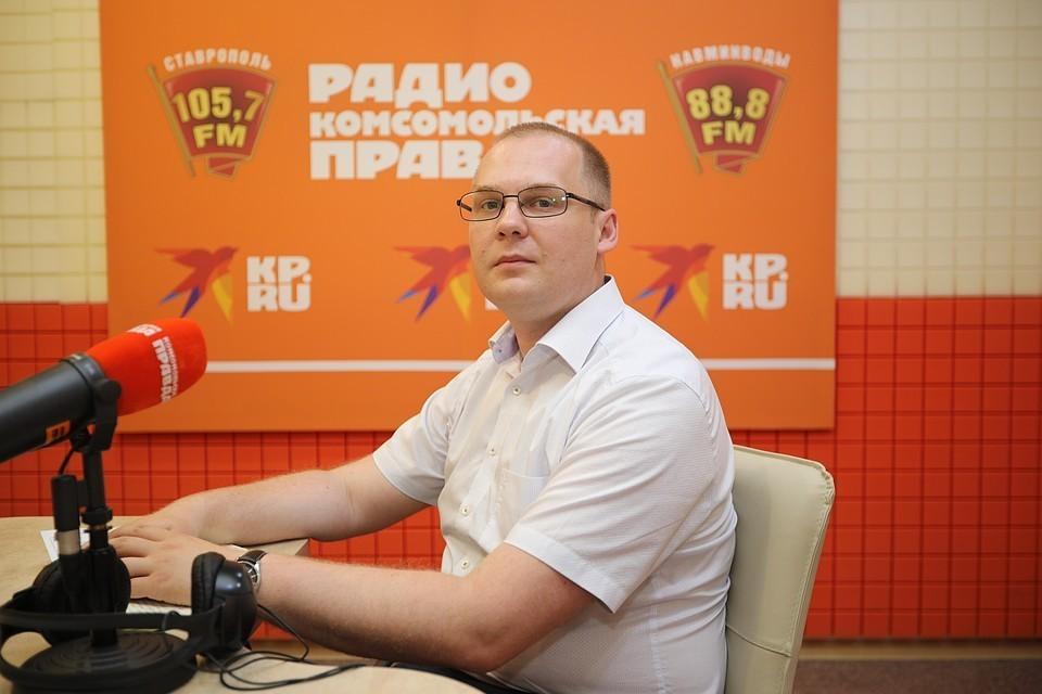 Заведующий ревматологическим отделением СККБ Иван Щендригин